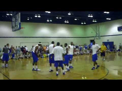 Raw Footage of Wall Cousins Bledsoe Hood - Kentucky Summer Scrimmage