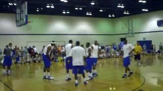 Raw Footage of Wall Cousins Bledsoe Hood - Kentucky Summer Scrimmage