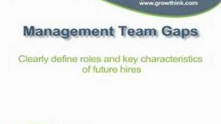 Writing the Management Team Section of Your Business Plan