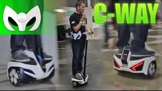 C-Way (Vehículo Eléctrico) Revisado desde CAMPUS PARTY!