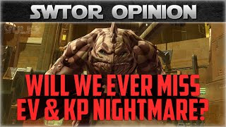 SWTOR Opinion: The Removal of EV and KP NiM In KotFE Patch 4.0