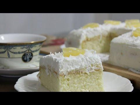 Hawaiian Wedding Cake :: 하와이안 웨딩 케이크