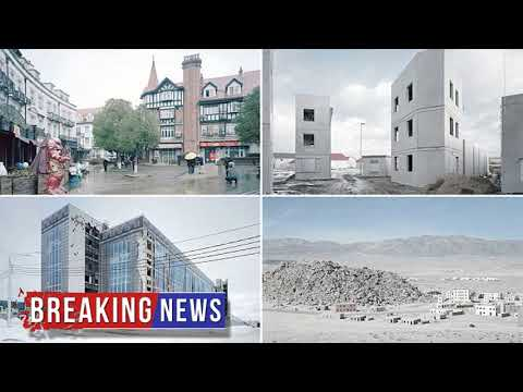 HOT NEWS Photographer travels world snapping realistic fake cities | Daily Mail Online