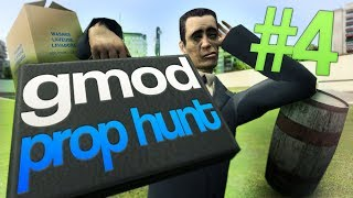 OH NO IM A POLE (Garrys Mod Prop Hunt with Friends)