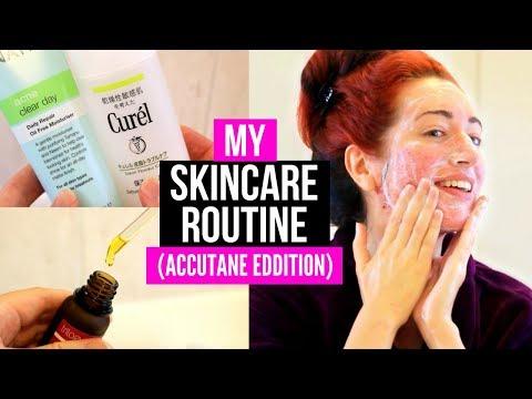 MY ACCUTANE SKINCARE ROUTINE! Sensitive, Dry + Acne-Prone Skin | Jess Bunty