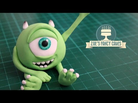 Monsters Inc Mike Wazowski cake topper