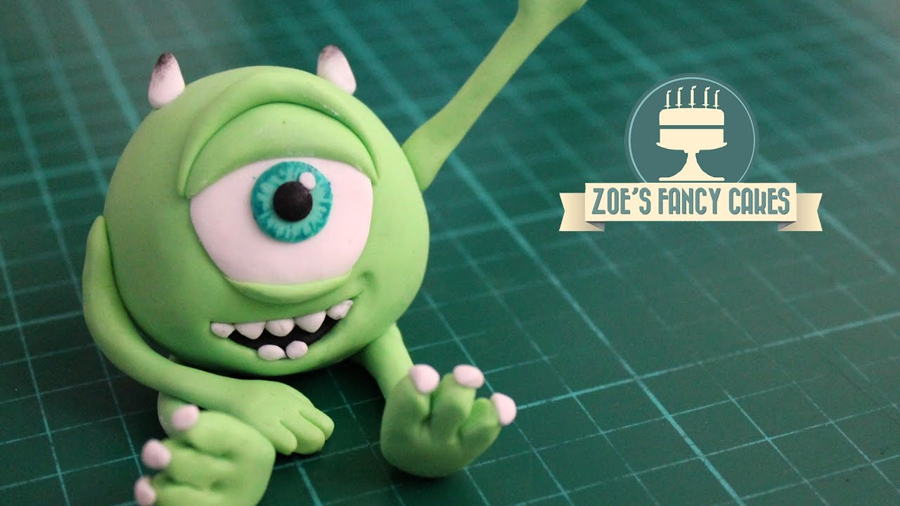 Monsters Inc Mike Wazowski cake topper YouTube