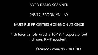2/8/17 NYPD RADIO, multiple priority calls all at once