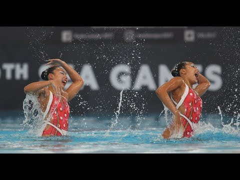 Singapore bag second gold from synchronised swimming