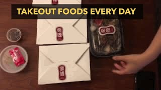 Takeout food…