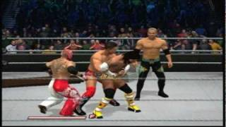 WWE Smackdown Vs Raw 2011 Gameplay