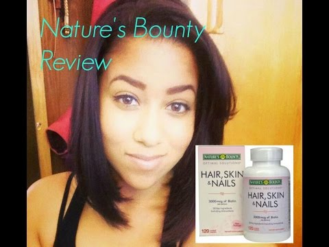 Nature\'s Bounty Hair, Skin, and Nails Review - YouTube