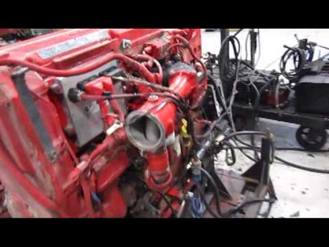 2006 Cummins Isx Egr Diesel Engine Youtube