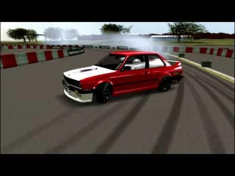 LFS| BMW E30 Drifting Logitech Formula Vibration Feedback