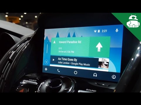 Android Auto in Ford Cars at CES 2016