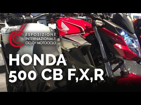 Nouveau Roadster Honda Cb500f 2019 Youtube