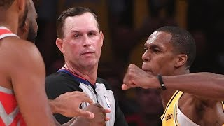 NBA's Surprising PUNISHMENT For Rondo, Paul & Ingram After Lakers vs Rockets FIGHT!