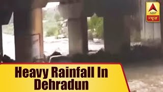 Incessant Rain Wash Away Cars In Dehradun