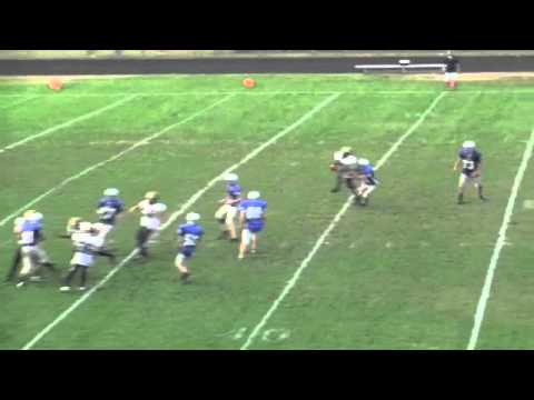 Last play of game touchdown for win interception