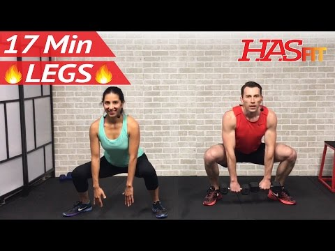 17 Min Home Leg Workout Routine Legs Thighs Buttocks Workout for Women & Men Lower Body Exercises
