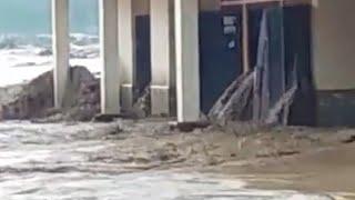 Detik-detik jasinga banjir bandang