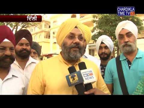Minister Hardeep Singh Puri reached Gurudwara Bangla Sahib Delhi