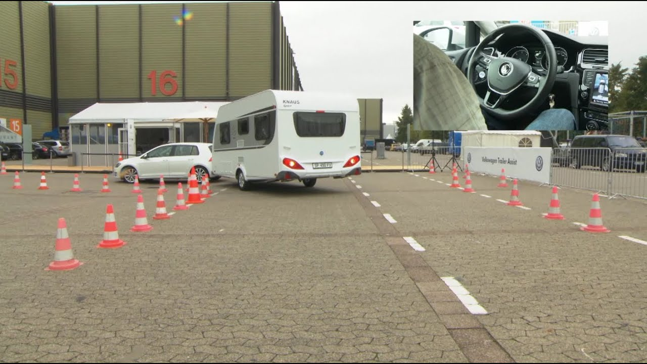 Practical Caravan Tests Volkswagen 39 S Trailer Assist Youtube