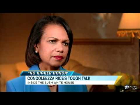 Condoleezza Rice Discusses Confronting Donald Rumsfeld Over Iraq War Policy