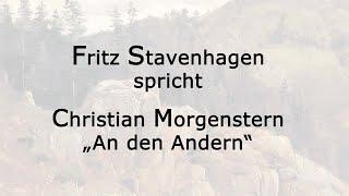 "Christian Morgenstern – ""An den Andern"""