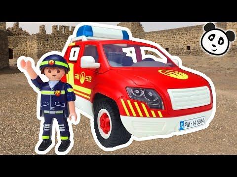 ⭕ PLAYMOBIL Feuerwehr 🔥 Brandmeisterfahrzeug 🔥 Spielzeug ausgepackt & angespielt - Pandido TV von YouTube · HD · Dauer:  4 Minuten 45 Sekunden  · 287.000+ Aufrufe · hochgeladen am 07.04.2016 · hochgeladen von Pandido TV - Der Kanal für Kinder