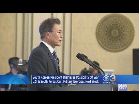 South Korea's President Dismisses Possibility Of War