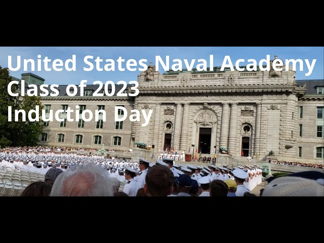 Class of 2023 United States Naval Academy Induction Day - Speech