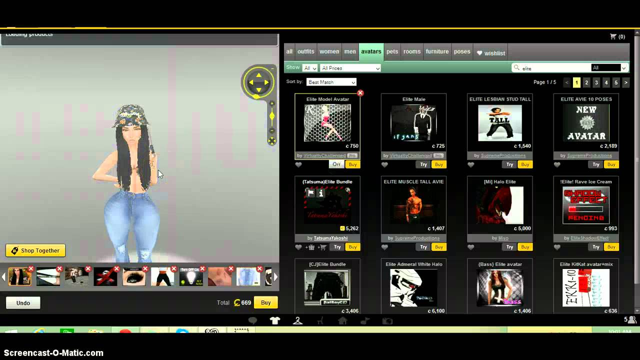 How to be naked on imvu