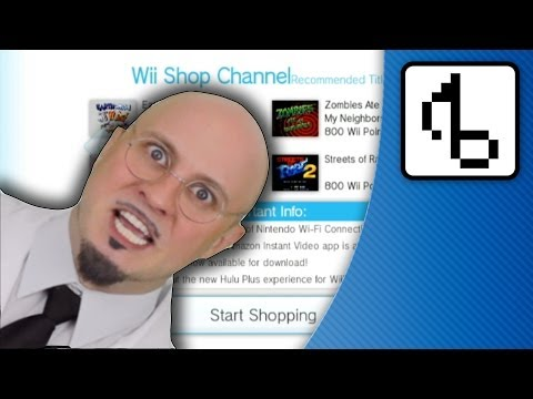 Wii Shop Channel WITH LYRICS - (Wii Shop Remix) - brentalfloss