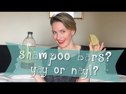 Shampoo Bar Hair Care Routine ('Low Poo' & Zero Waste)