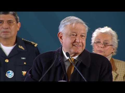 AMLO presenta plan contra el Huachicoleo , será delito grave