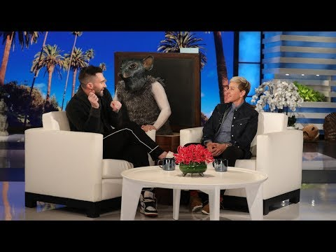 Chris Davis - Adam Levine Gets Scared by a Giant Rat!