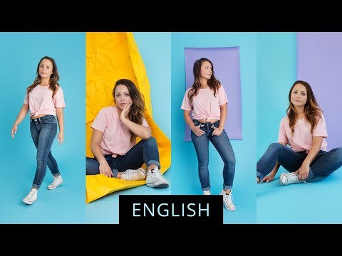 Using Paper Backdrops In Studio Photography With Elaine Torres Youtube