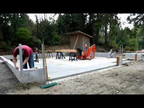 Building My Garage #10 Installing Sill Plate Framing Part 1   YouTube