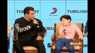 Tubelight: Journalist asks child actor Matin Rey Tangu, Is this your first visit in India?