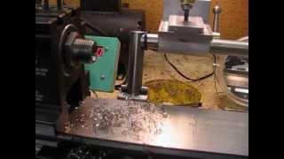 MVI 0255 making a dead centre with drawbar part 2