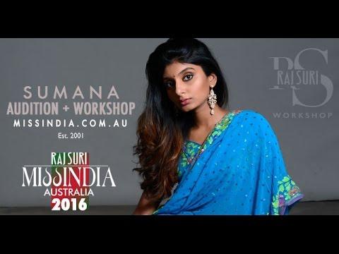 Miss India Australia 2016 Finalist - Raj Suri Workshops