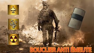 MW2 NUKE AVEC TOUTES LES ARMES ÉPISODE 45 (FINAL) : LE BOUCLIER ANTIÉMEUTES