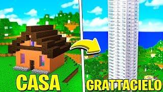 TRASFORMIAMO LA NOSTRA CASA IN UN GRATTACIELO! - MINECRAFT