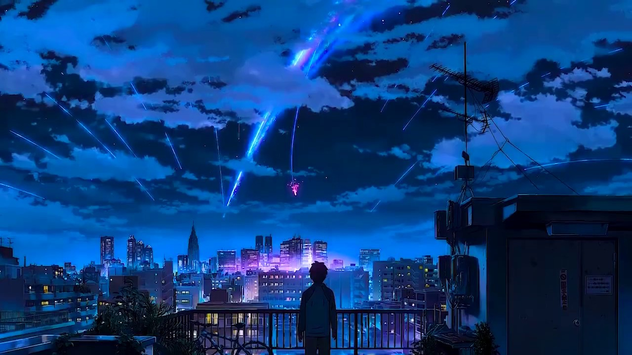 Alternatively referred to as a animated wallpapers can break up the. live wallpaper kimi no nawa - YouTube