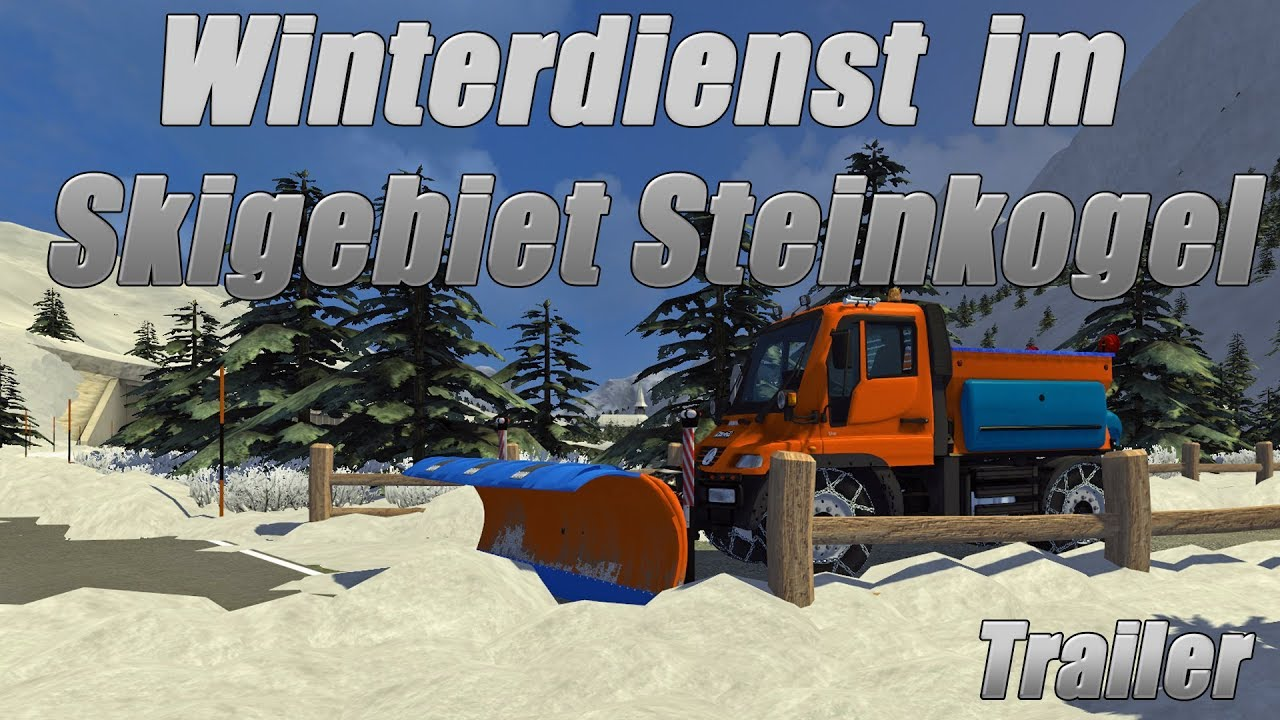winterdienst einsatz im skigebiet steinkogel trailer. Black Bedroom Furniture Sets. Home Design Ideas