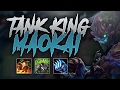 TANK KING MAOKAI EASILY 1v5 DIVE AND KILL ADC! - Road to Challenger #48