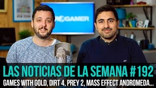 la semana en 10 min 192 games with gold dirt 4 prey 2 mass effect andromeda