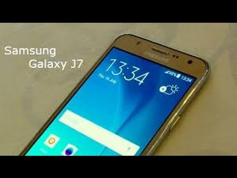 Samsung Galaxy J7-First Software update