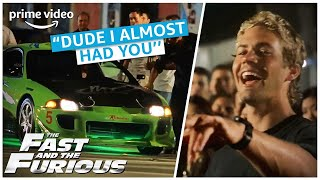 Vin Diesel vs. Paul Walker | The Fast and the Furious | Amazon Prime Video NL